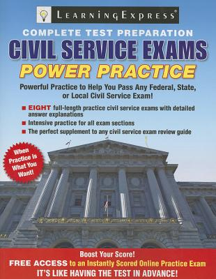 Civil Service Exams By Learning Express Llc (COR)